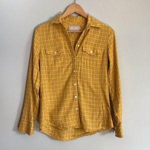 Banana Republic Women's Soft Wash Button Up Shirt